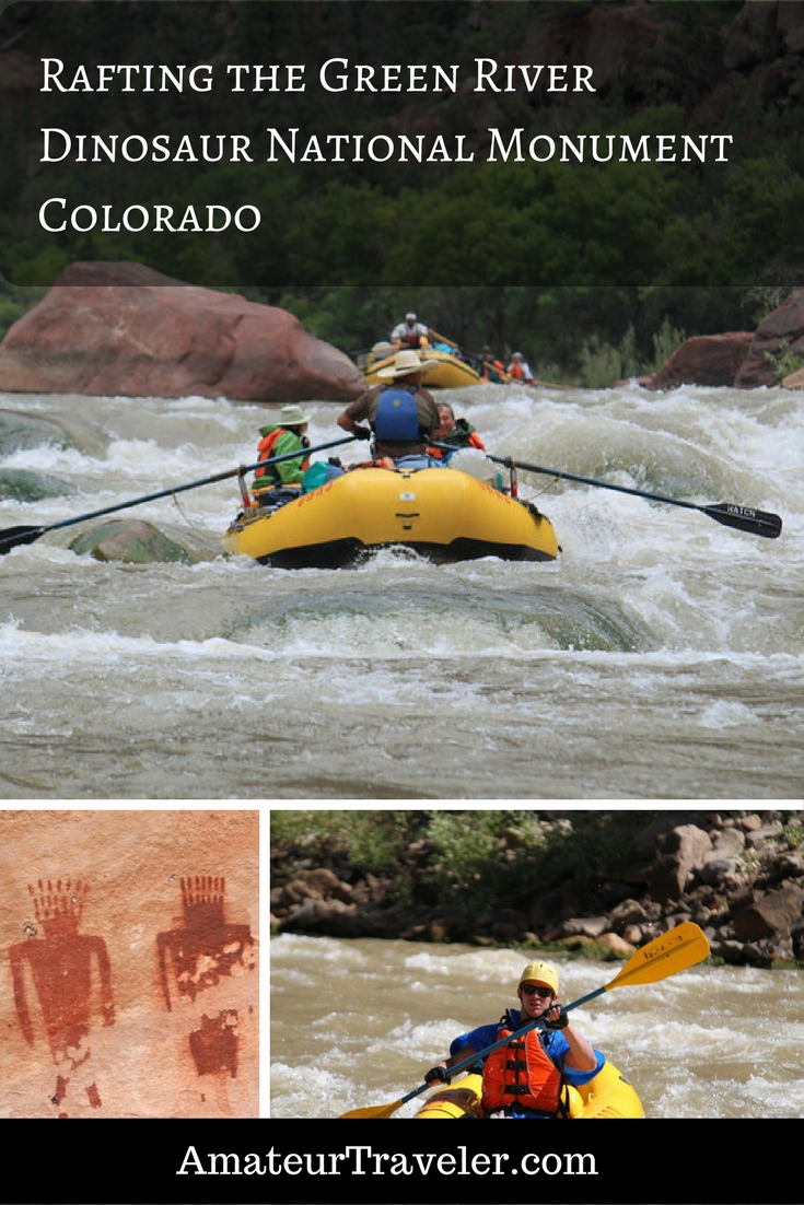 Rafting the Green River (Gates of Lodore) - Dinosaur National Monument - Colorado