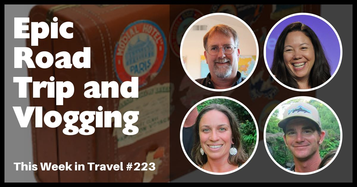 This Week in Travel - Travel News Podcast. Regular hosts Jen Leo and Chris Christensen are joined by this week's guests: Matt and Amie from thetravelingtogetherjournal.com, which is a video blog (vlog) about their road trip to Panama.