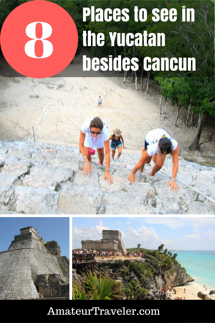 8 Places to see in Mexico's Yucatan Peninsula outside Cancun