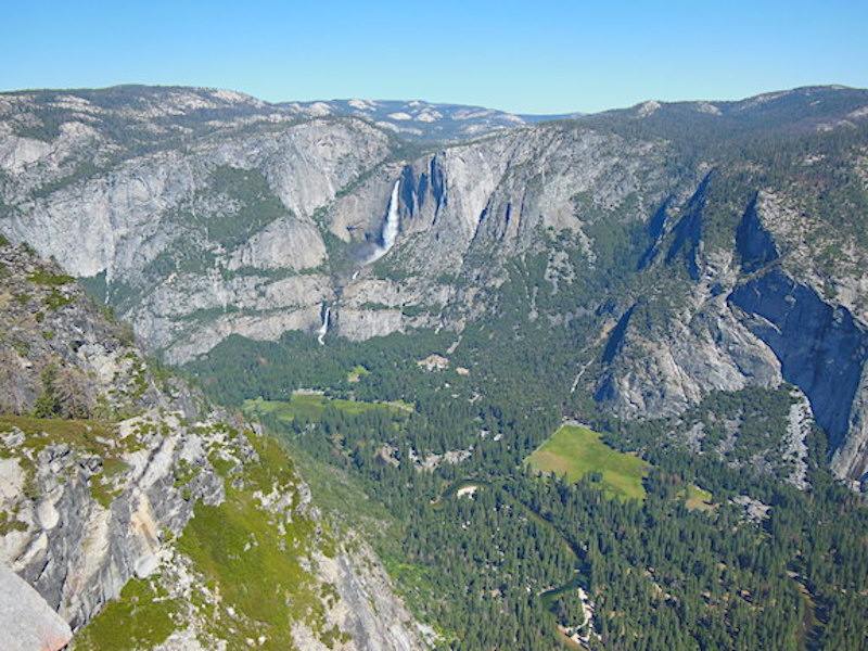 View of Yosemite Valley from Glacier Point - Yosemite National Park