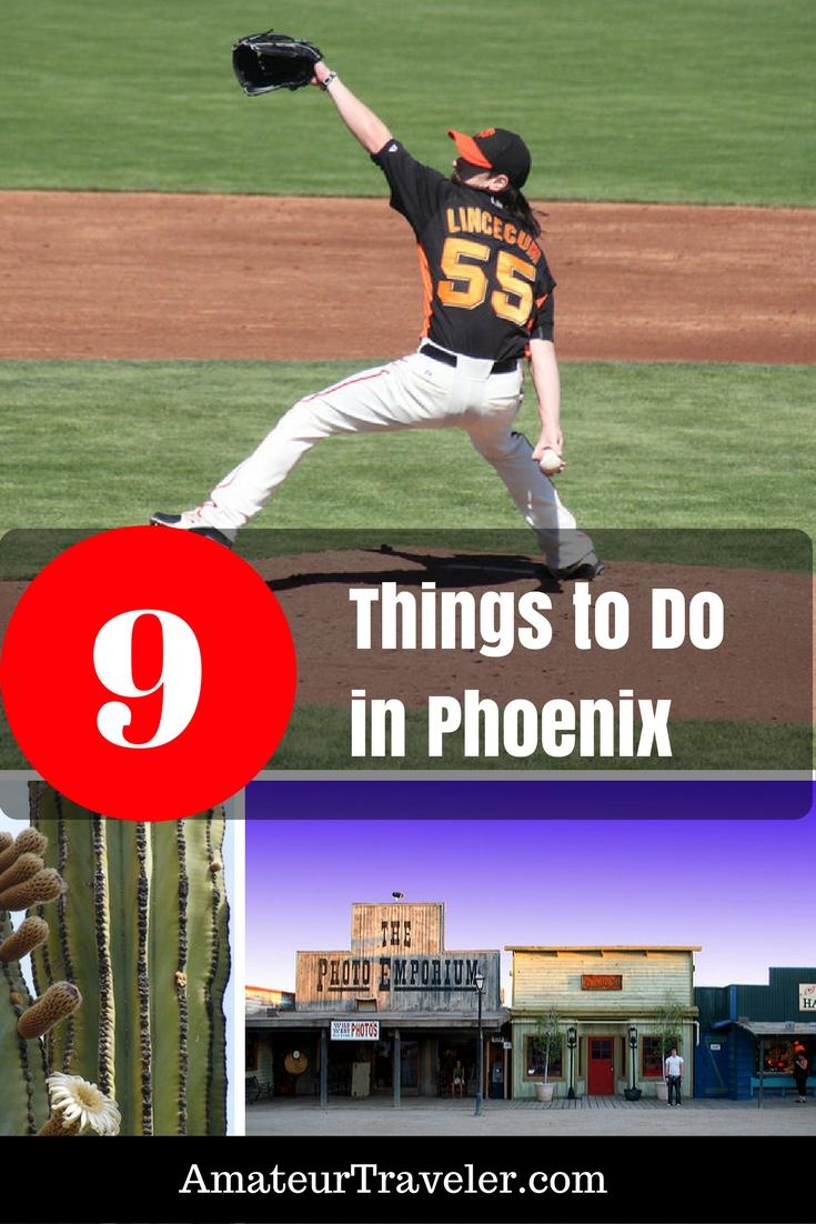 Phoenix Bölgesinde Yapılabilecek 9 Şey #arizona #phoenix #thingstodoin #museum #baseball #planning