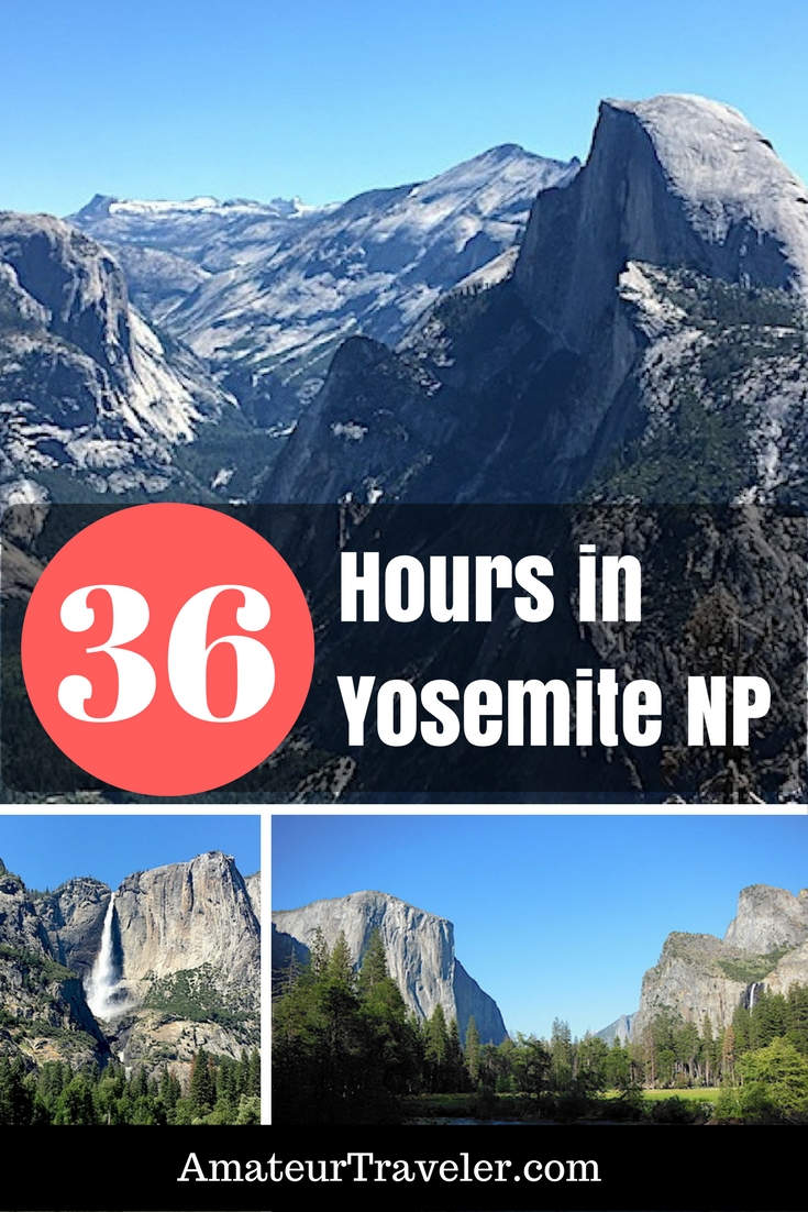 36 Hours at Yosemite: A First Time Visit To America's Famous National Park #travel #trip #vacation #california #national-park #yosemite #yosemite-national-park #hiking #half-dome #el-capitan #valley #tips #with-kids #summer