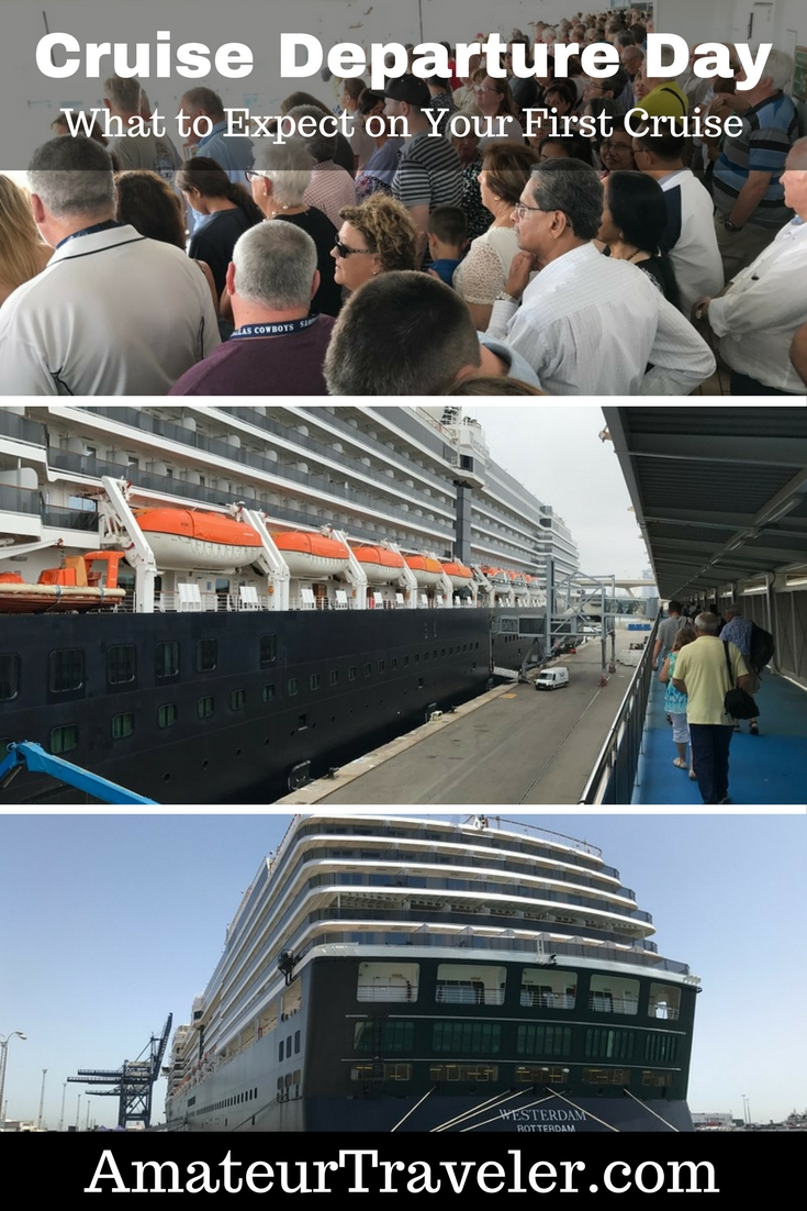 Cruise Departure Day - What to Expect on Your First Cruise