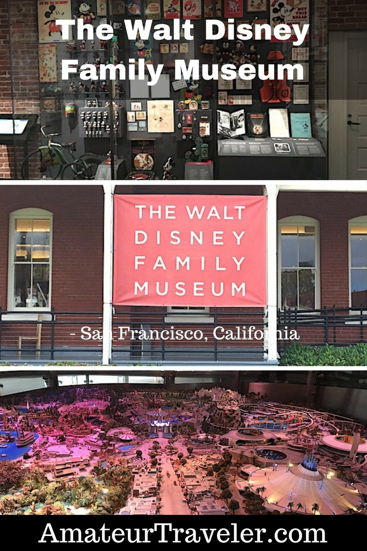 The Walt Disney Family Museum - San Francisco, California - A Place Dedicated To Walt Disney's Life and Accomplishments #travel #trip #vacation #california #san-francisco #walt-disney #museum