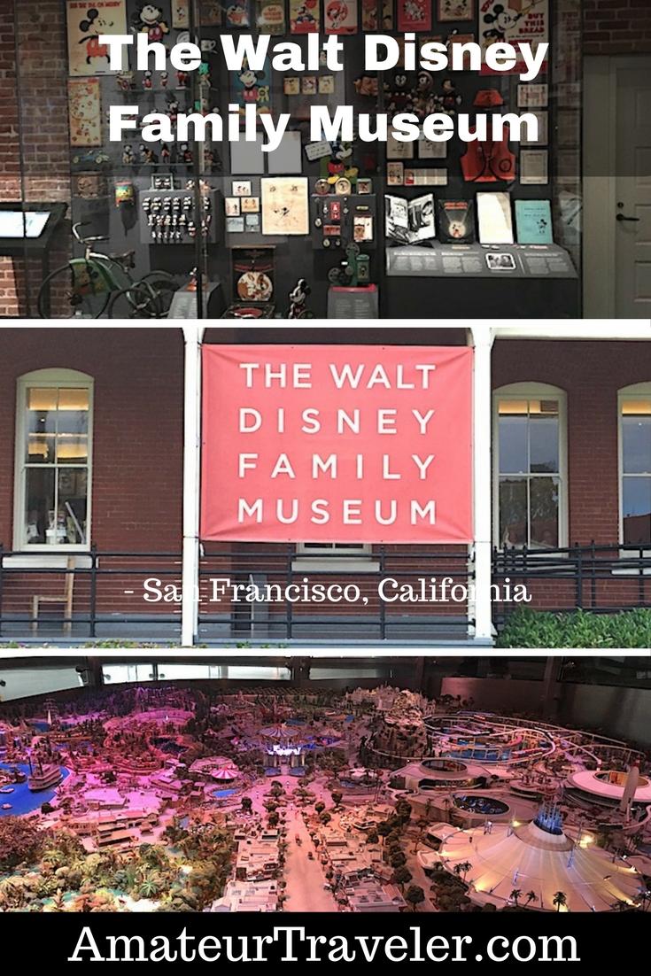 """Walt Disney Ailesi Müzesi - San Francisco, Kaliforniya - Walt Disney'in Yaşamını ve Başarılarını Adanmış Bir Yer #travel #trip #vacation #california # san-francisco # walt-disney #museum """"width ="""" 300"""