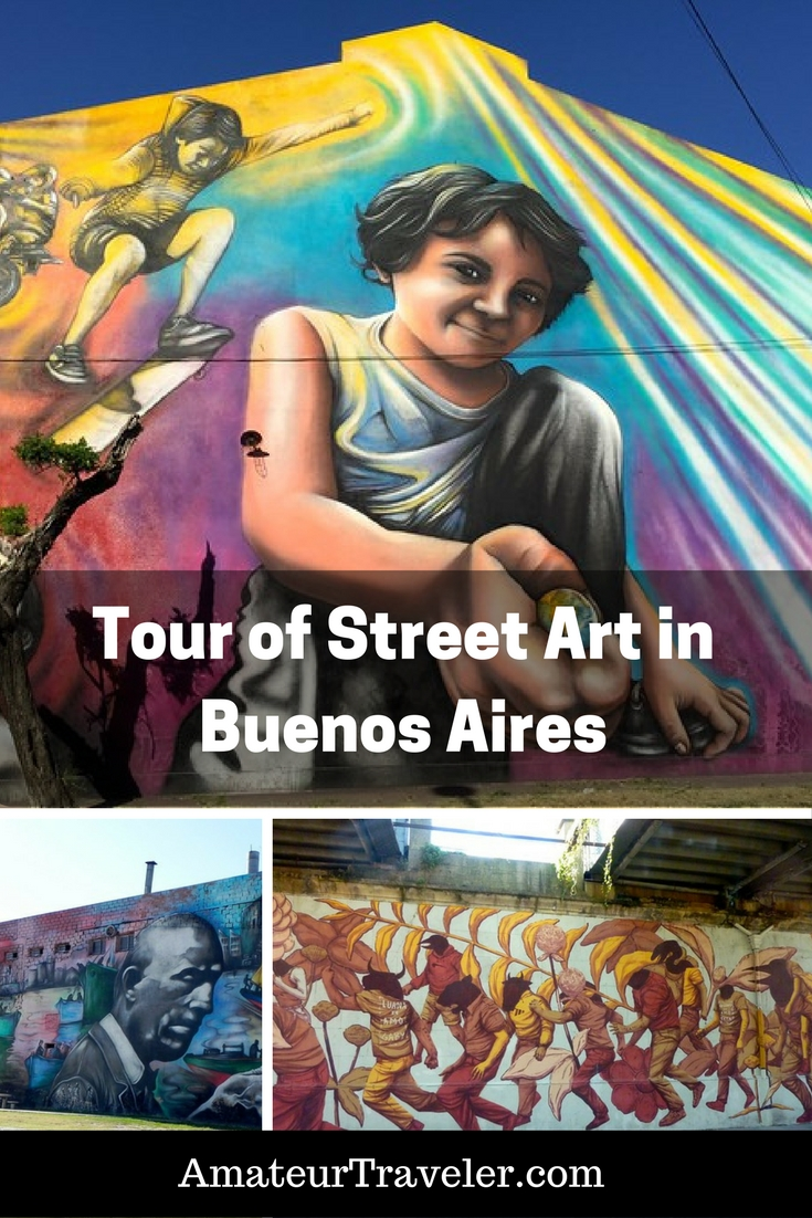 Tour of Street Art / Graffiti in Buenos Aires, Argentina