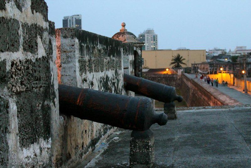 La Muralla - Cartagena, Colombia