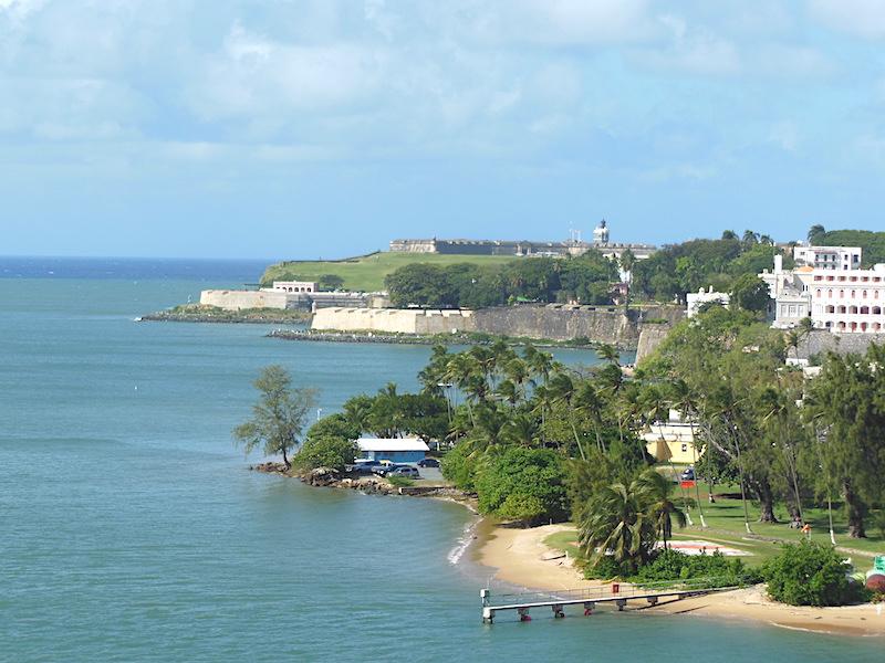 San Juan, Porto Riko'daki Kale: 26 Aralık 2016