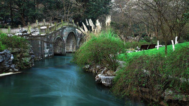 Hangzhou West Lake, Prince Bay Park, Bridges