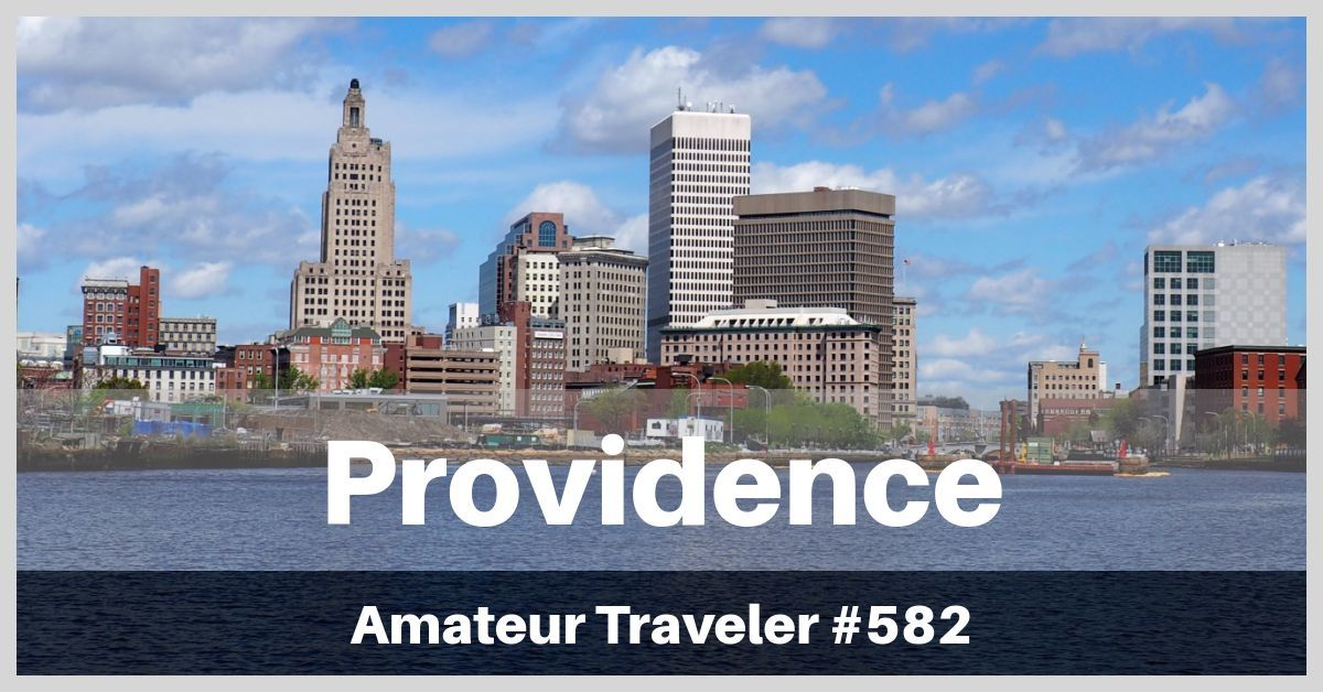 Travel to Providence, Rhode Island - food scene, history and waterfire!