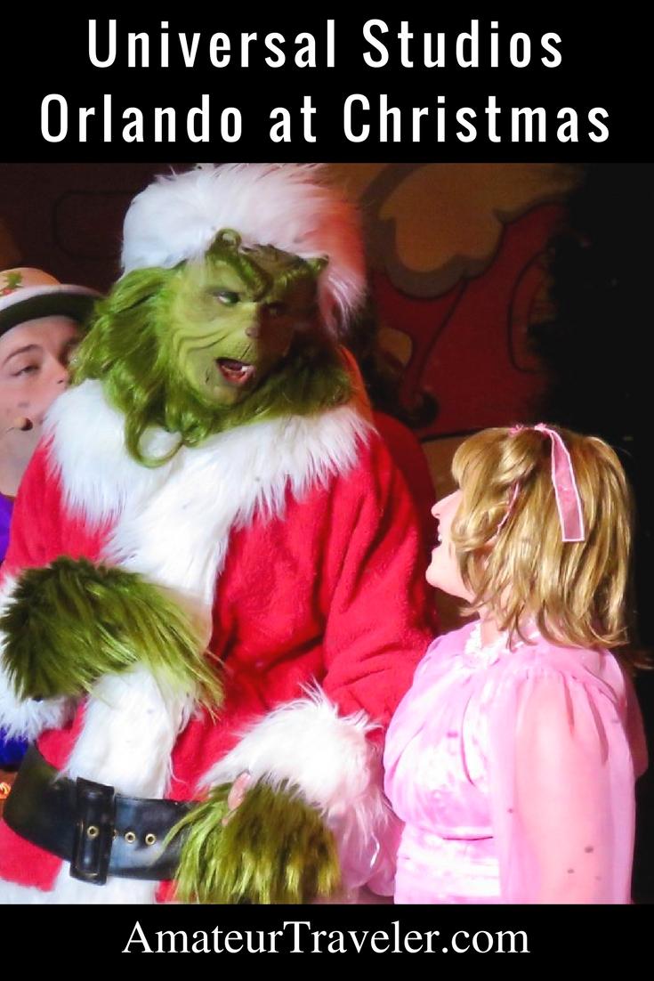 Noel zamanda Universal Studios Orlando