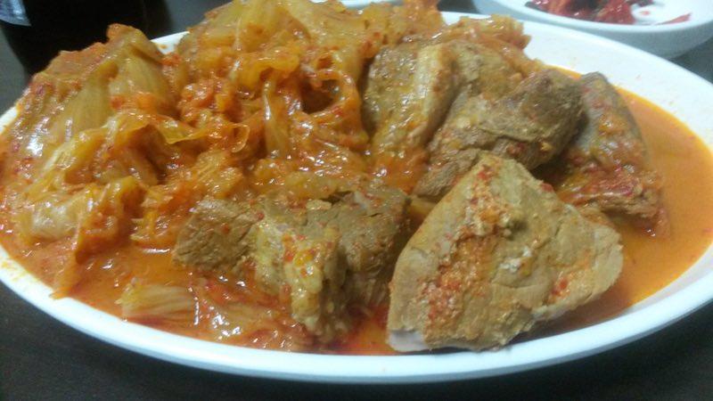 Kimchi jjim (김치 찜)