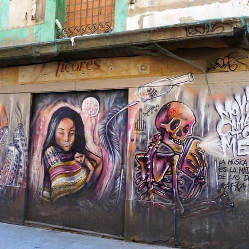 Touring El Raval in Barcelona