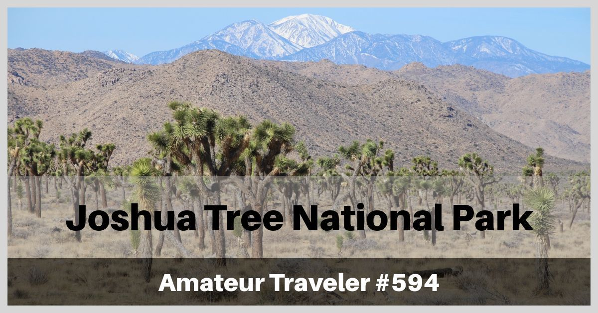 Travel to Joshua Tree National Park - Episode 594