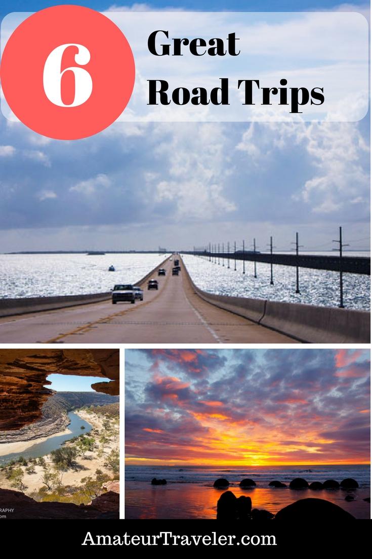 6 Great Road Trips