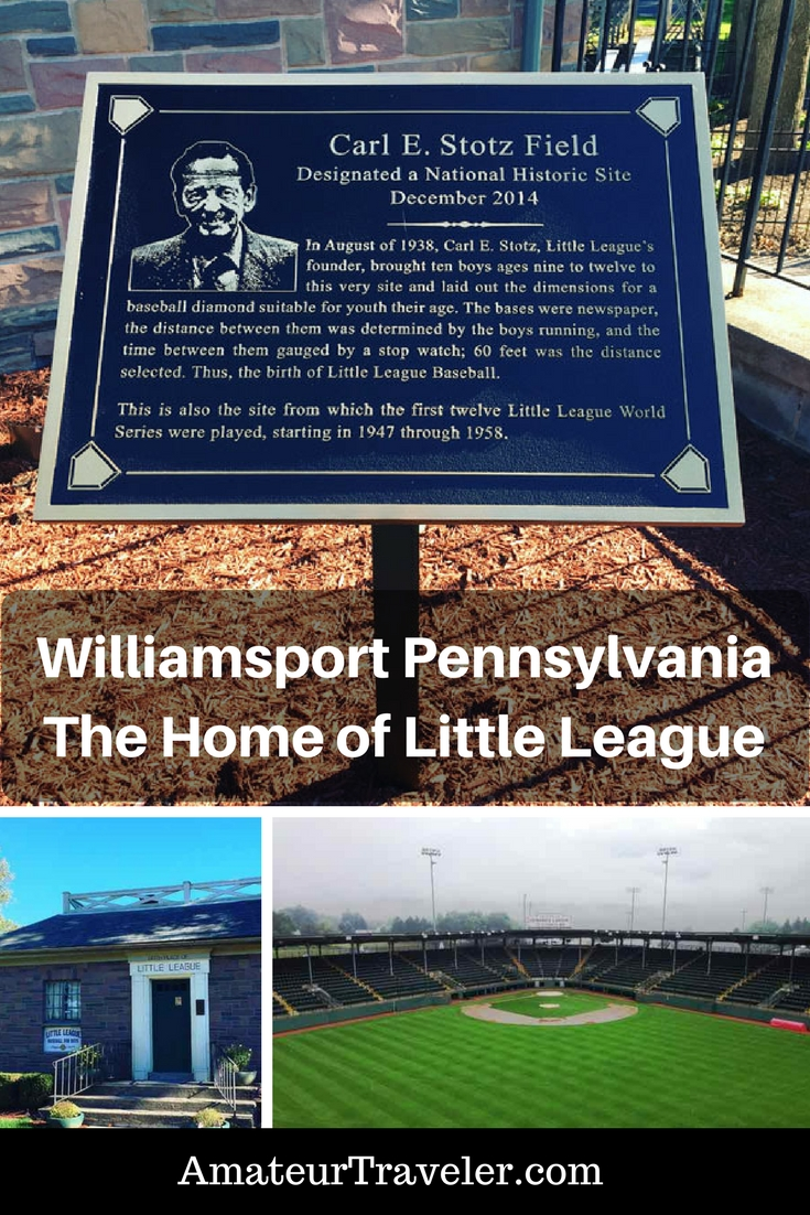 Exploring Williamsport Pennsylvania – The Home of Little League