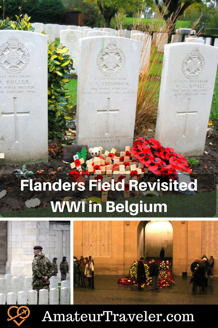 Flanders Field Revisited - My Thoughts on Remembrance Day in Flanders (Poem)
