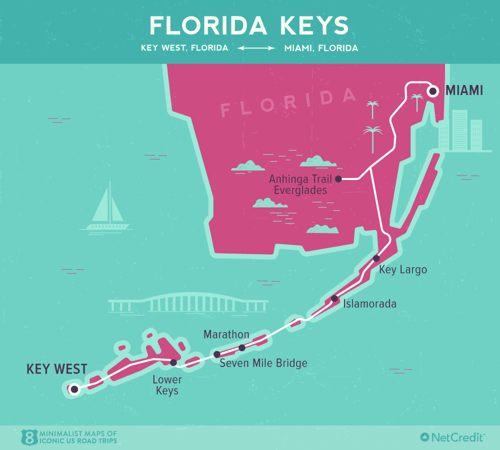 Map Of Florida Key West.Road Trip Down The Florida Keys And Dry Tortugas National Park
