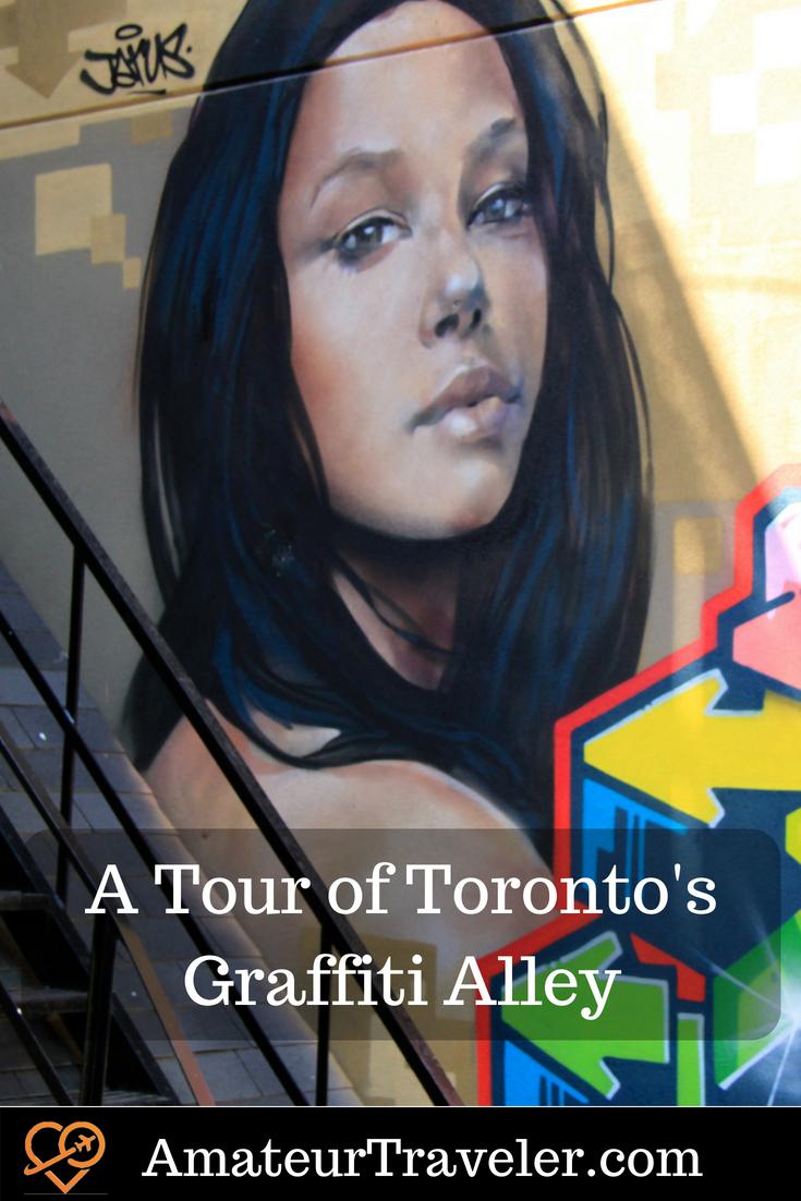 A Tour of Toronto's Graffiti Alley #travel #toronto #canada #graffiti