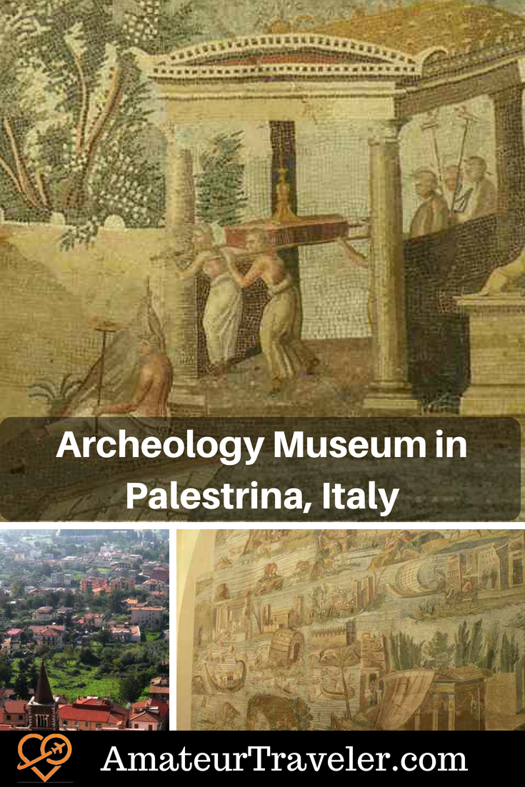 Archeology Museum in Palestrina, Italy