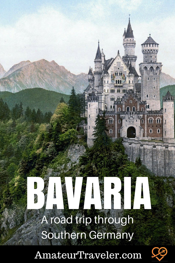Road Trip through Bavaria in Southern Germany #travel #germany #bavaria #munich #roadtrip #castles