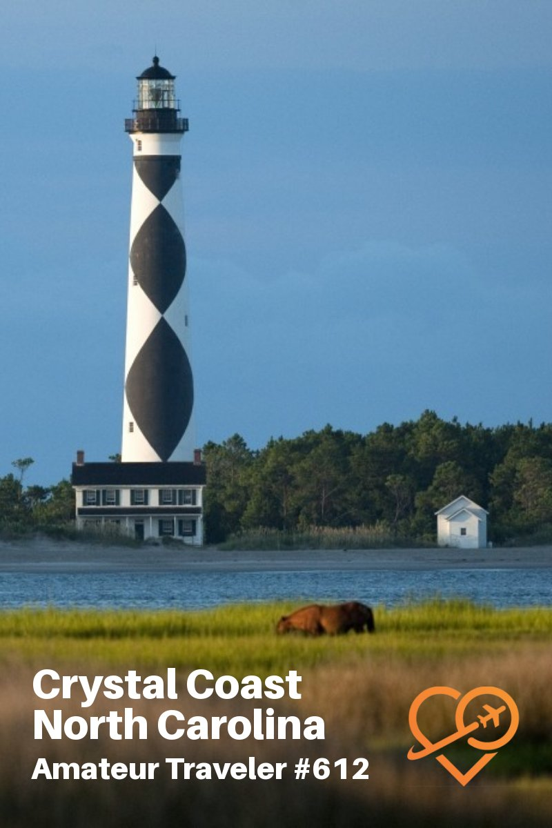 Travel to the Crystal Coast of North Carolina (podcast) - what to do, see and eat #travel #northcarolina #crystalcoast #beach