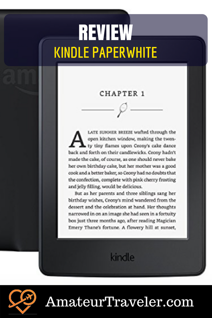 Review: Amazon's Kindle Paperwhite