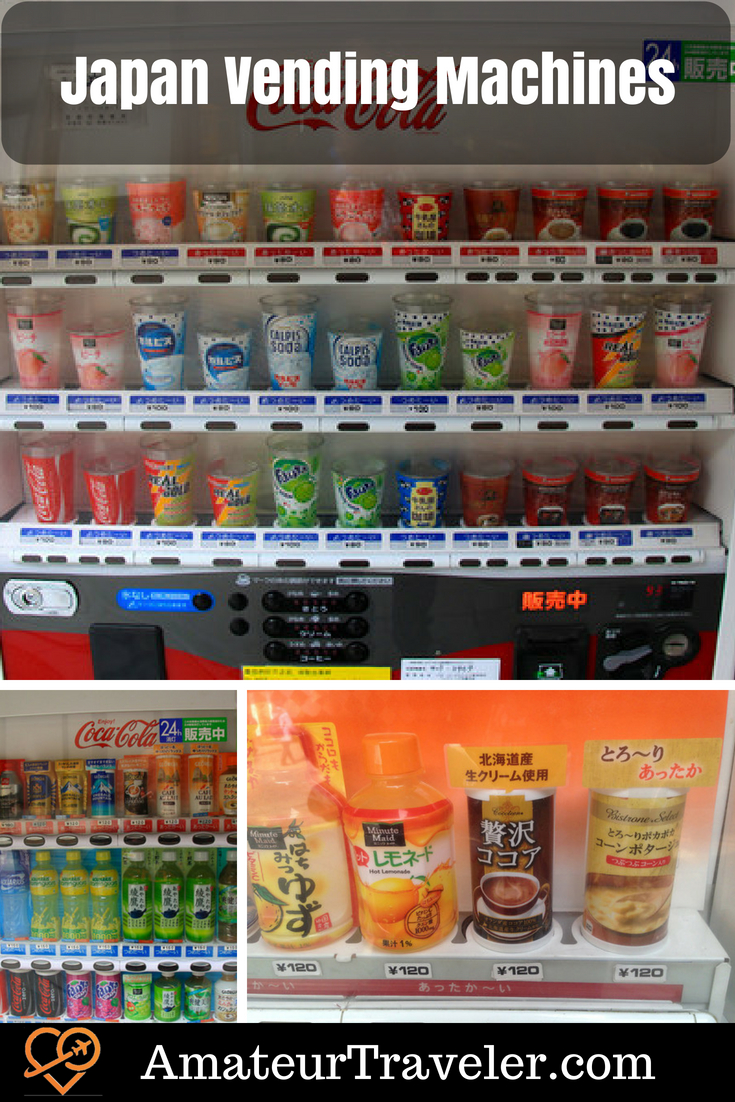 Japan Vending Machines #travel #japan
