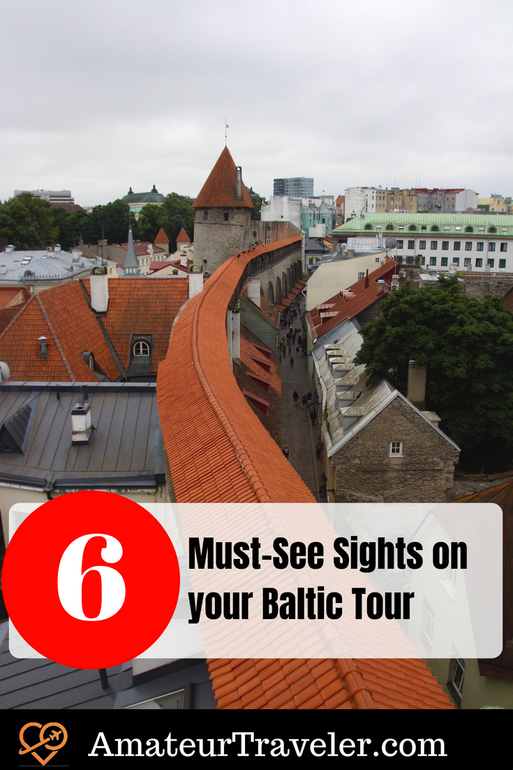 6 Must-See Sights on your Baltic Tour #baltic #travel #Estonia #Latvia #Lithuania