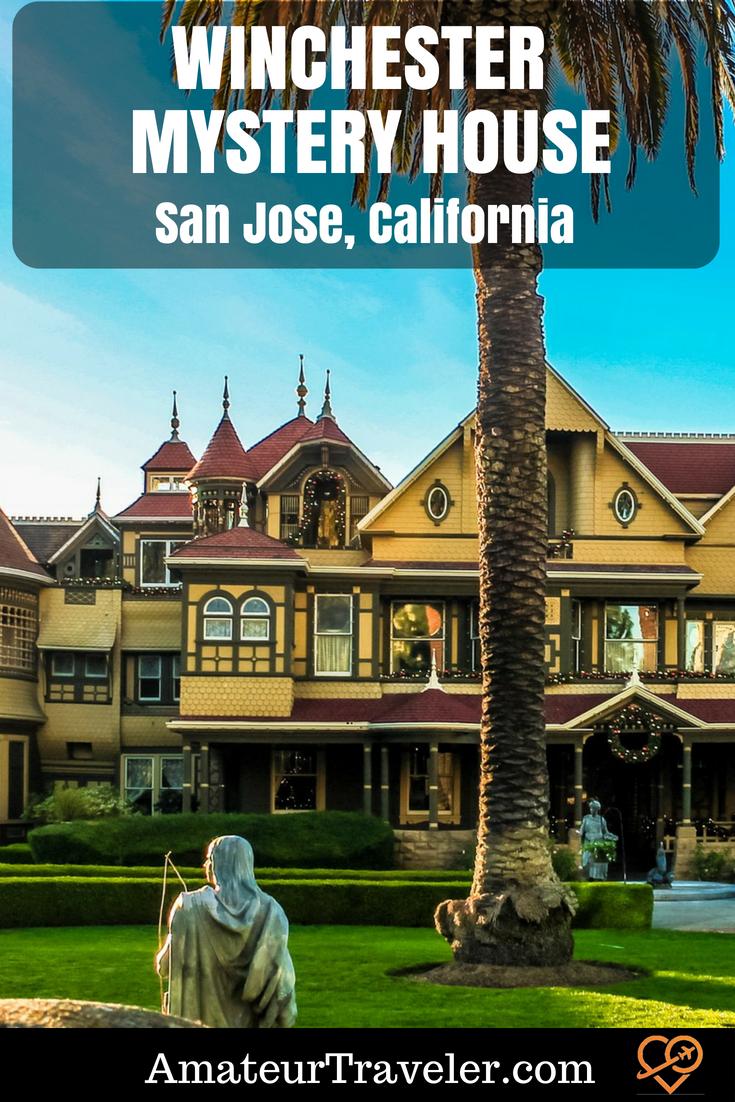 Winchester Mystery House – San Jose, California #travel #weird