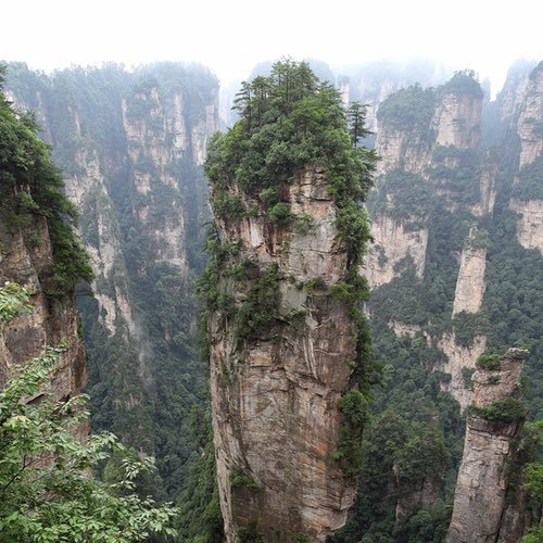 "ZhangJiaJie National Park – China's ""Avatar Mountains"""