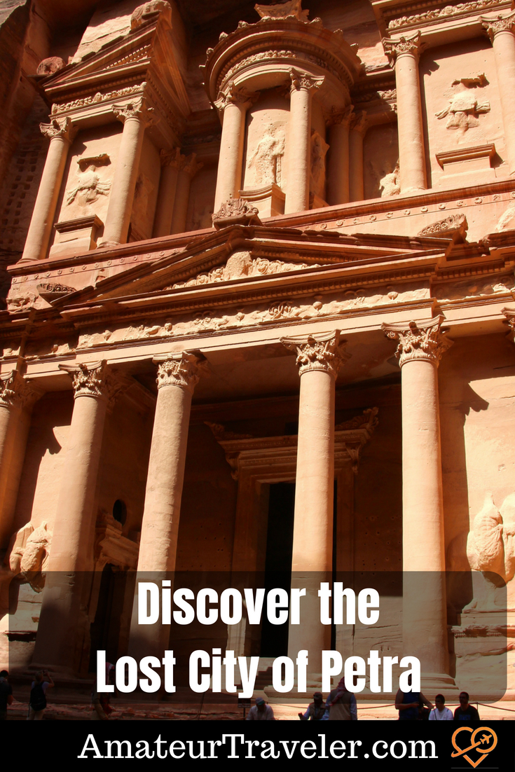 Discover the Lost City of Petra #travel #petra #jordan