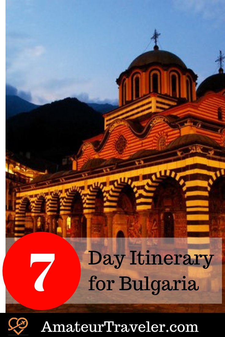 7 Day Itinerary for Bulgaria #travel #bulgaria
