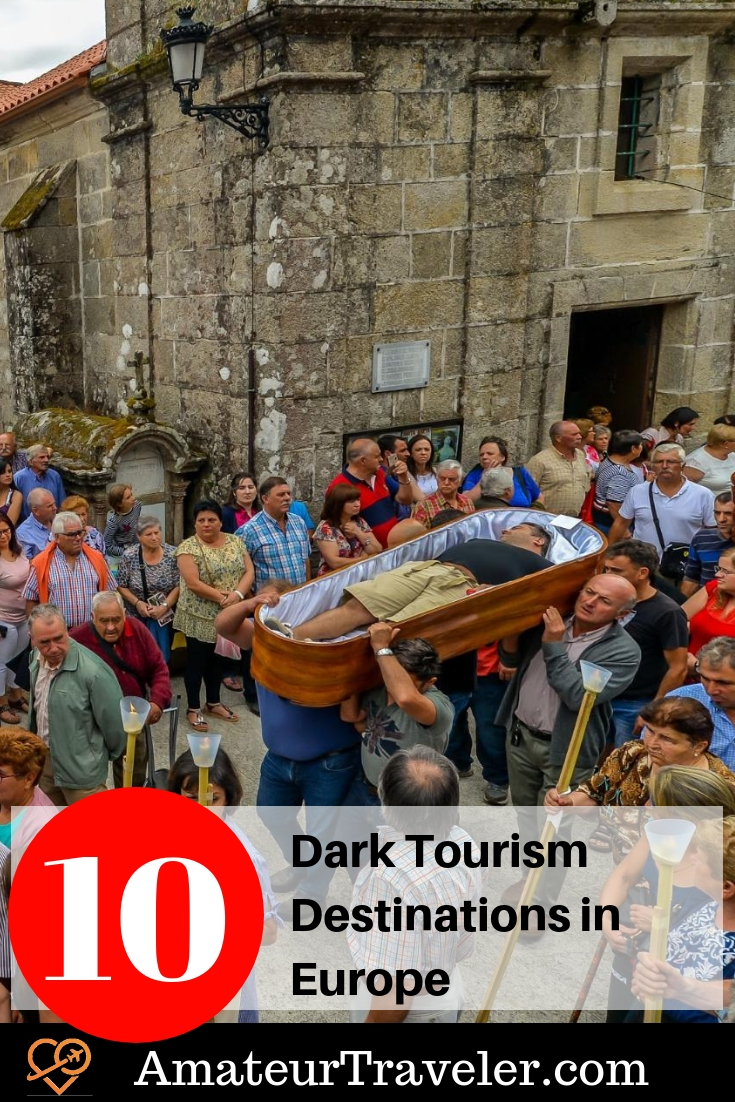 10 Dark Tourism Destinations in Europe #dark-tourism #travel #europe #france #uk #scotland #italy #lituania #germany