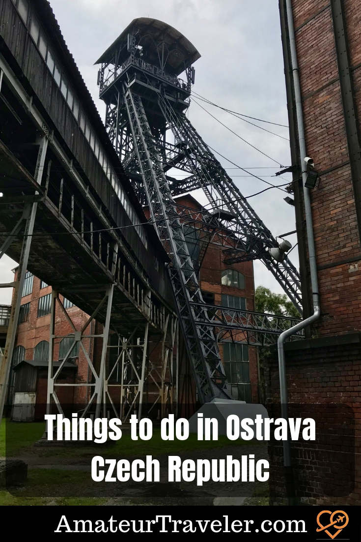 Things to do in Ostrava - Connecting with the Czech Republic's Industrial Past #travel #ostrava #czechrepublic #mining