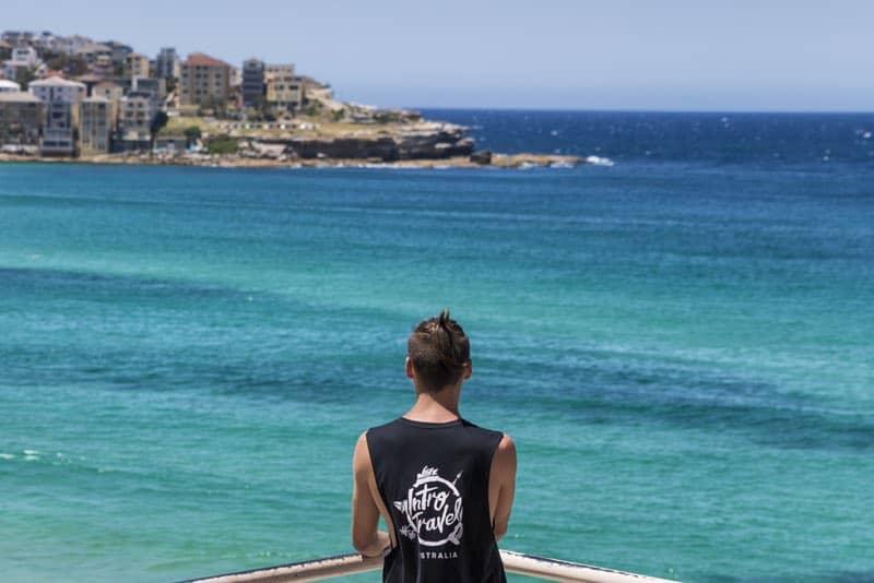 Bondi Beach lookout