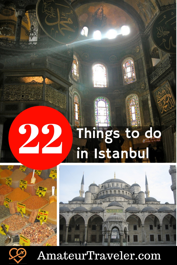 22 Must See Places in Istanbul | What to See in Istanbul | Istanbul Attractions Map