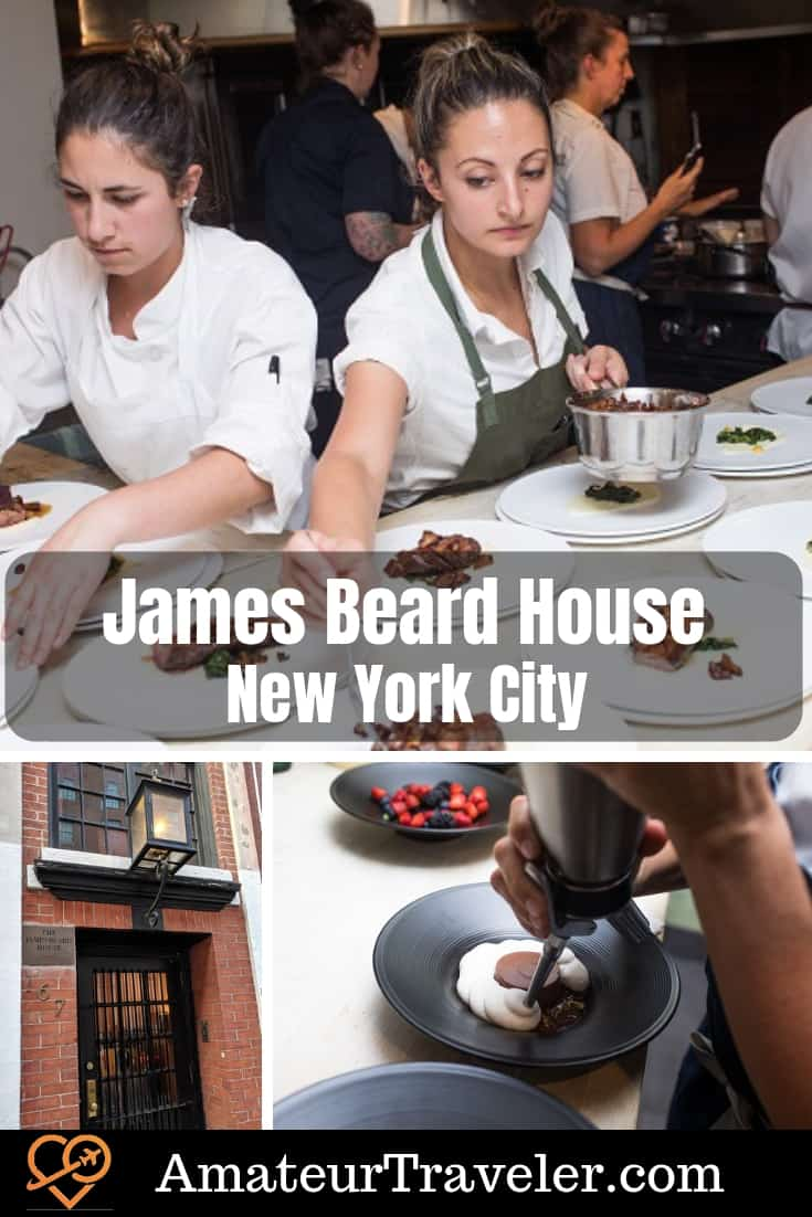 Dining at the James Beard House, New York City - A Culinary Travelers Dream #food #travel #nyc #new-york #new-york-city #james-beard #chef