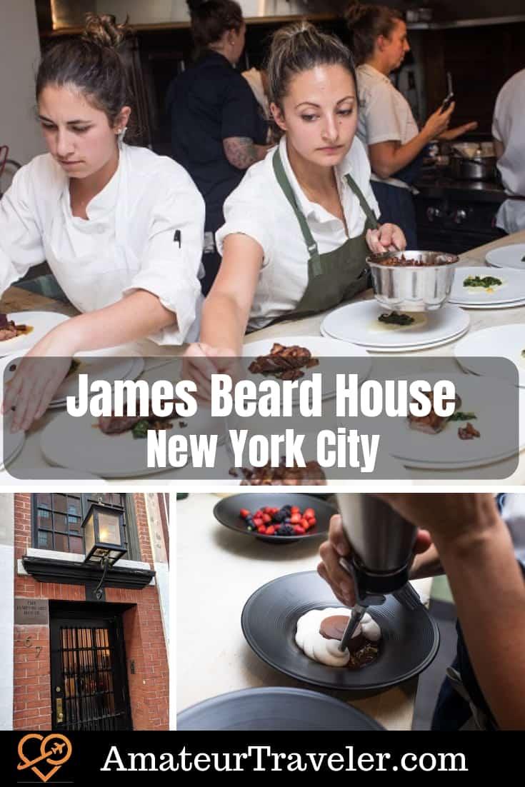 James Beard House'da Yemek, New York - Bir Mutfak Gezgini Rüyası #food #travel #nyc # new-york # new york-şehir # james-beard #chef