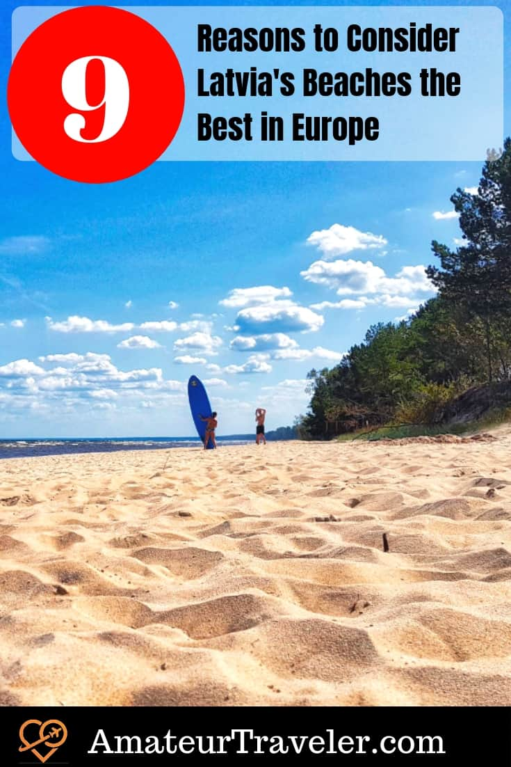9 Reasons to Consider Latvia's Beaches #travel #latvia #beaches