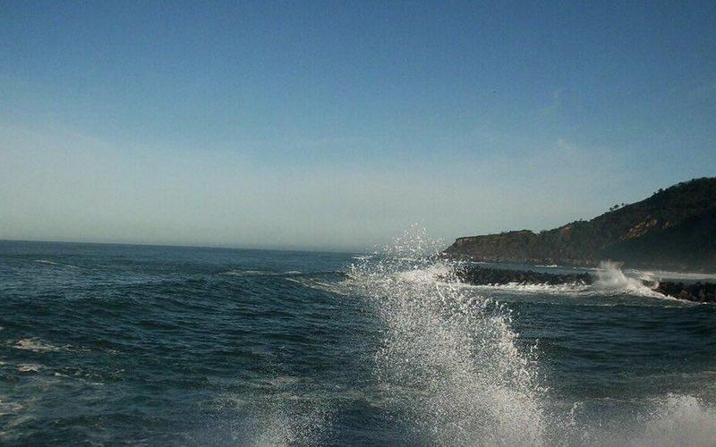 dalgalar ve deniz - San Sebastian İspanya