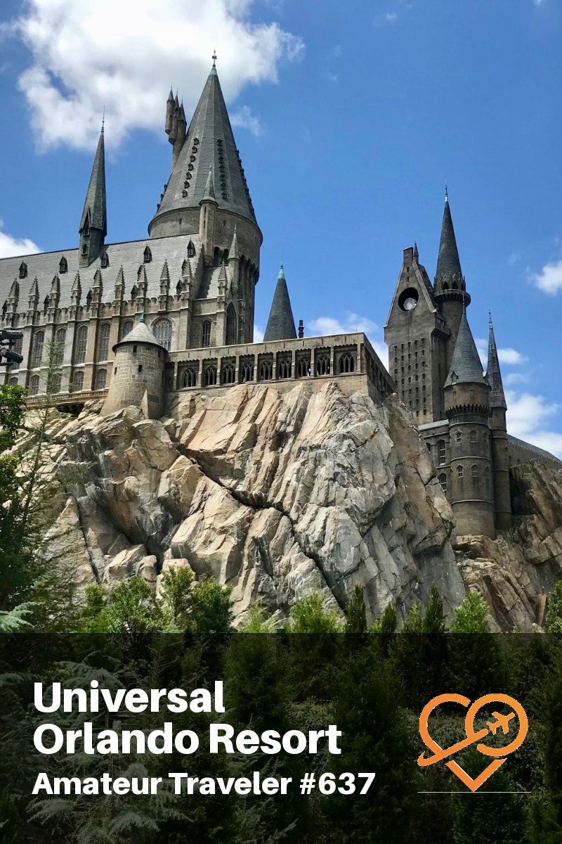 Visiting Universal Orlando Resort in Florida (Travel Podcast) | The Wizarding World of Harry Potter | Universal Studios Florida | Universal's Islands of Adventure | Volcano Bay