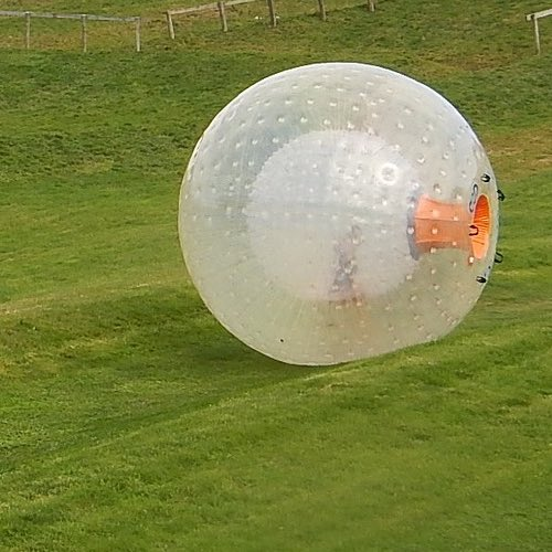 Zorbing- Riding a Human Hamster Ball – Rotorua, New Zealand