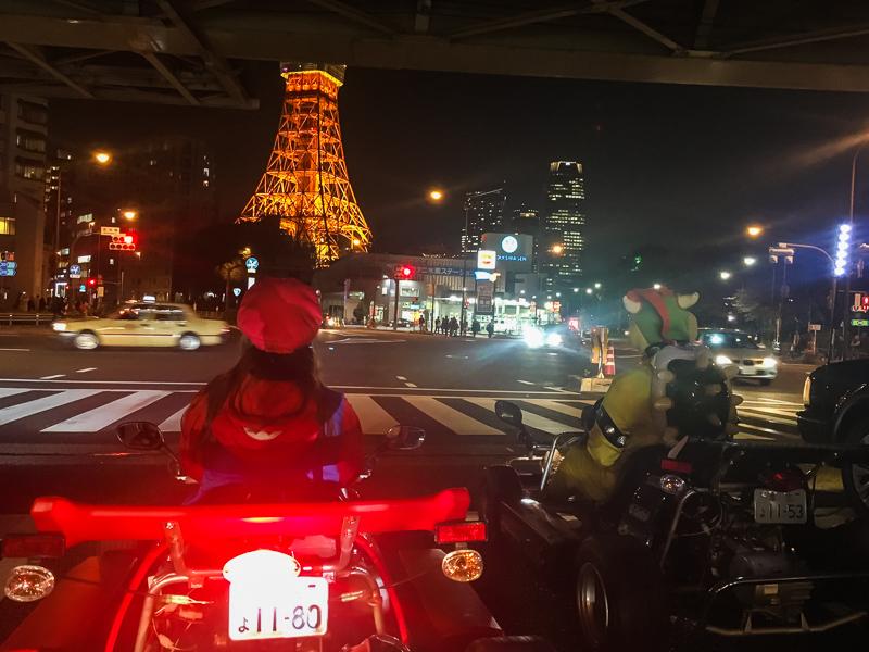 Tokyo geceleri Mari araba