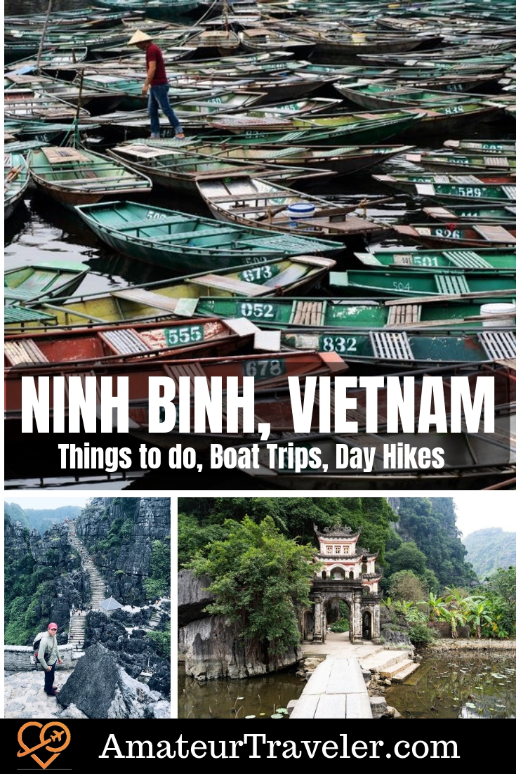Things to do in Ninh Binh, Vietnam - Boat Trips, Day Hikes, Day Trips | Ninh Binh tour | trang an boat tour | hat to do in ninh binh#travel #ninhbinh #vietname