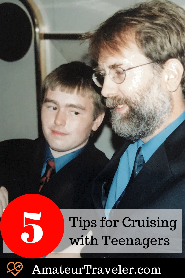 Tips for Cruising with Teenagers | Cruising with Teens #travel #cruising #family #teen