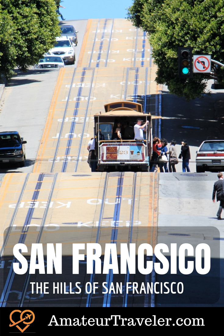 The Hills of San Francisco, California #sanfrancisco #california #travel #trip #vacation #hills #what-to-do #what-to-do-in
