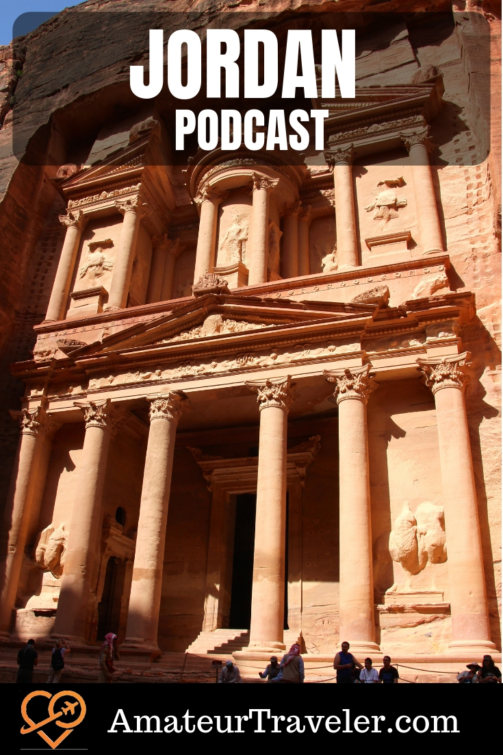 Travel to Jordan (podcast) #travel #trip #vacation #destinations #thingstodoin #planning #initinerary #podcast #middleeast #desert #petra
