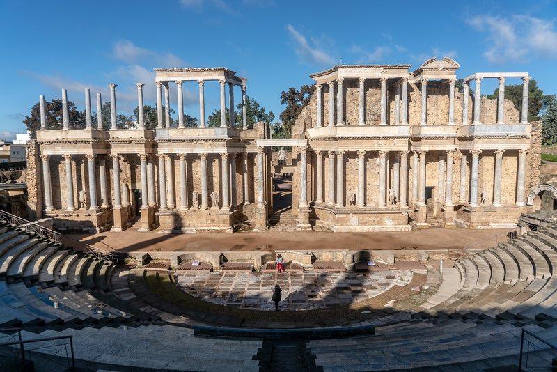 Merida'nın Romalılar kalıntıları