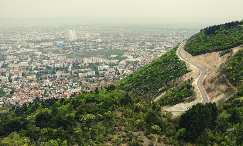 Скопье, столица Македония